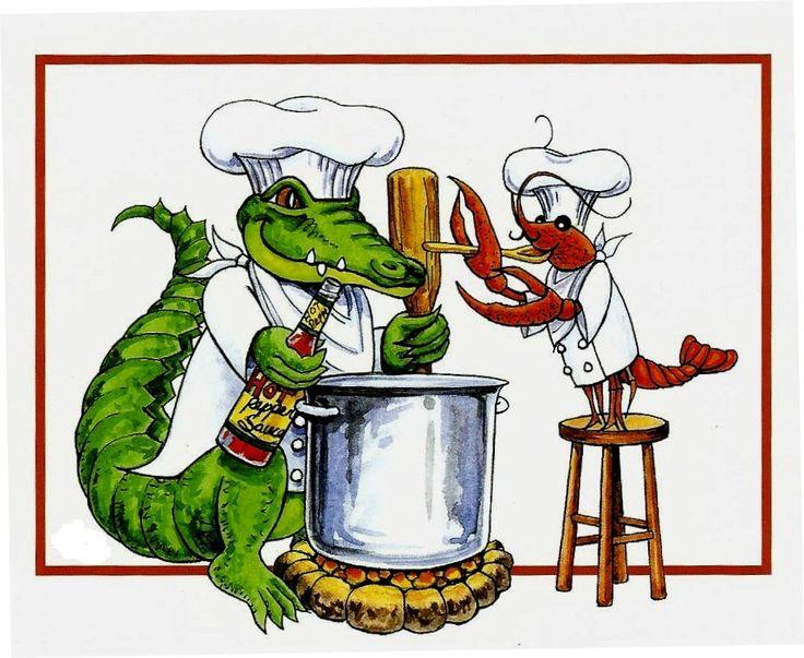 736x603 Louisiana Cook Clipart