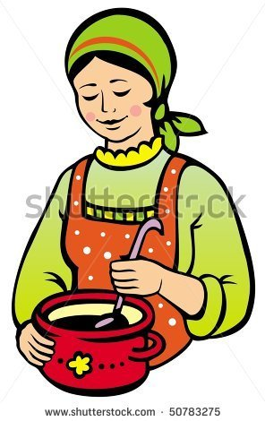 296x470 Woman Cooking Clipart Owknouq Clipart Panda