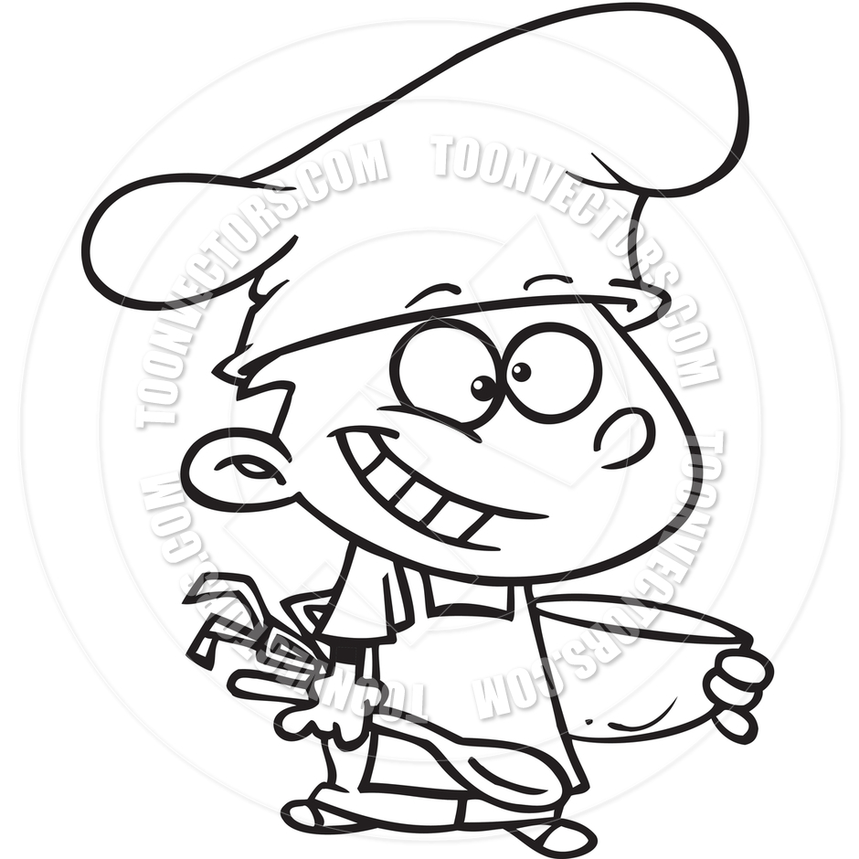 940x940 Art For The Kitchen, Cooking Cartoon Clip Art Black And White