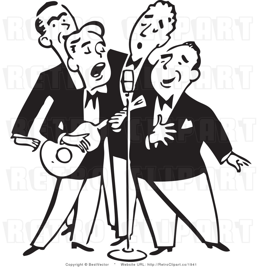 1024x1044 Live Singing Clipart