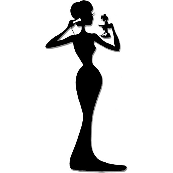 600x600 Actor Clipart Silhouette