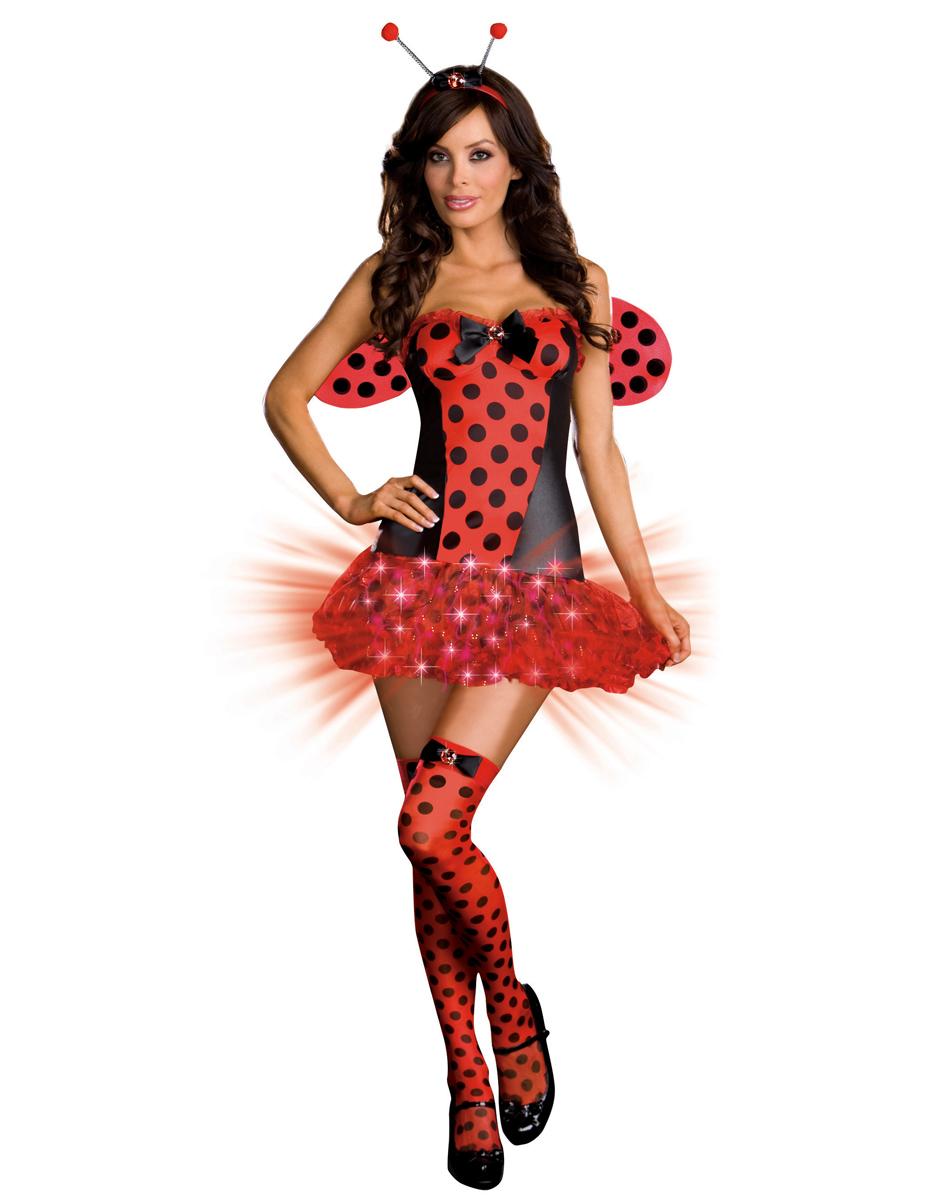 950x1200 Light Me Up Ladybug Adult Womens Costume Spirit Halloween