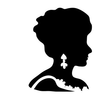 341x340 Free Silhouettes Face, Pictogram, Face