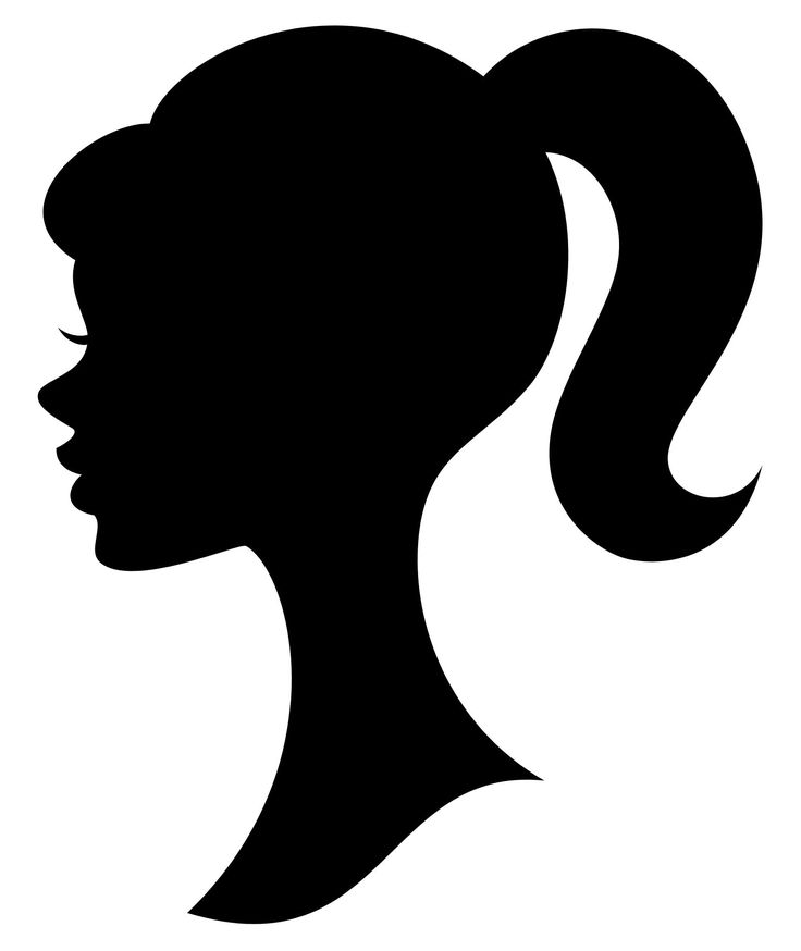 736x874 Girl Silhouette Group