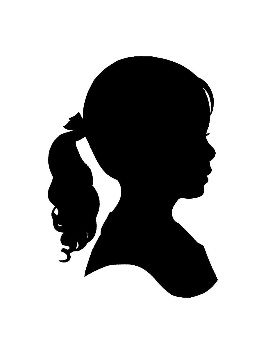 960x1218 Little Girl Clipart Profile