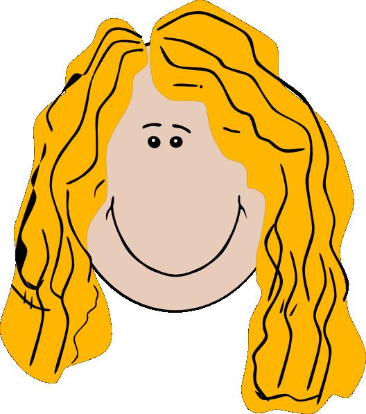 528x597 Long Hair Clipart