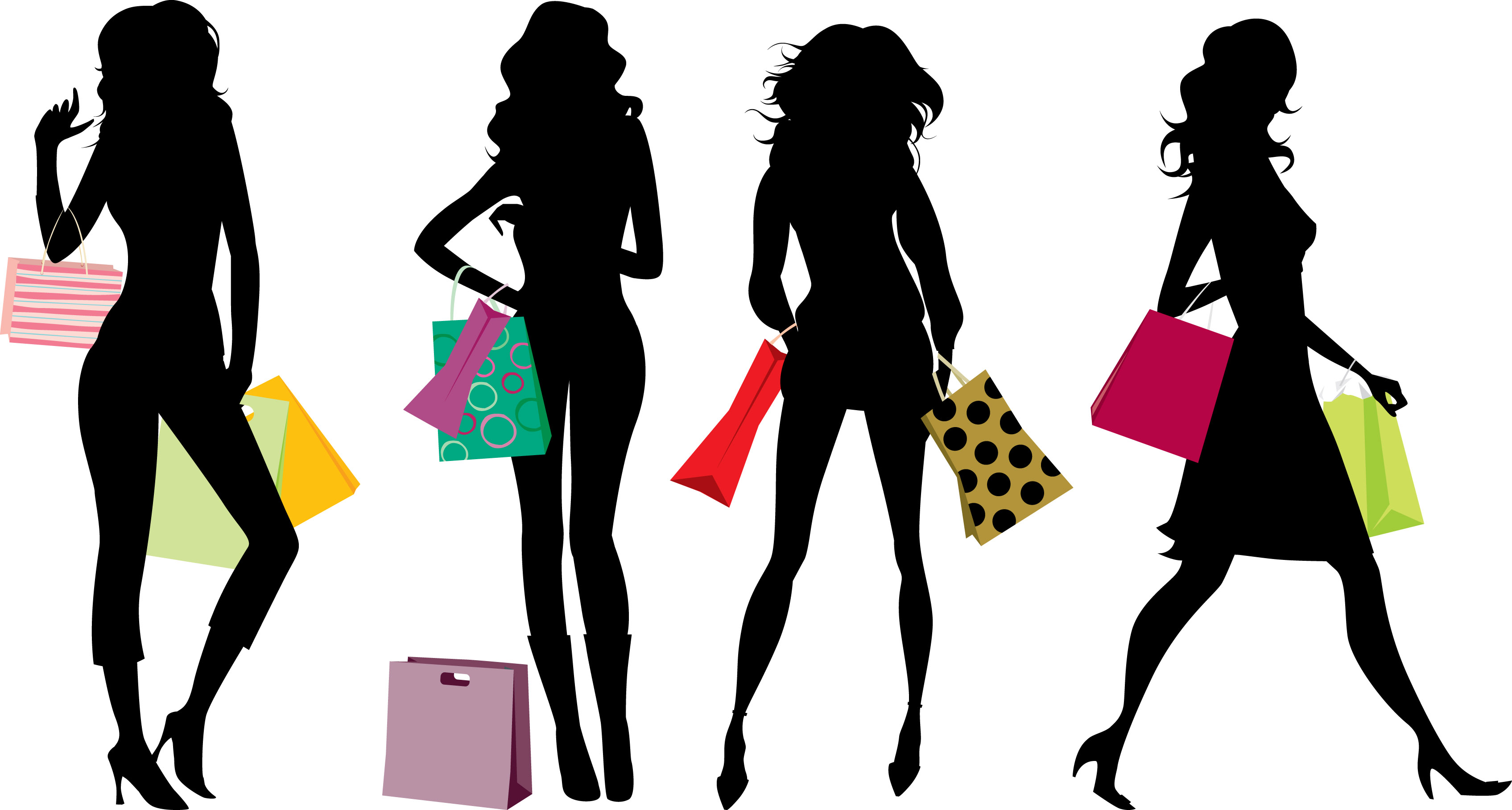 e8ad2e0fd03 Woman Shopping Clipart | Free download best Woman Shopping Clipart ...