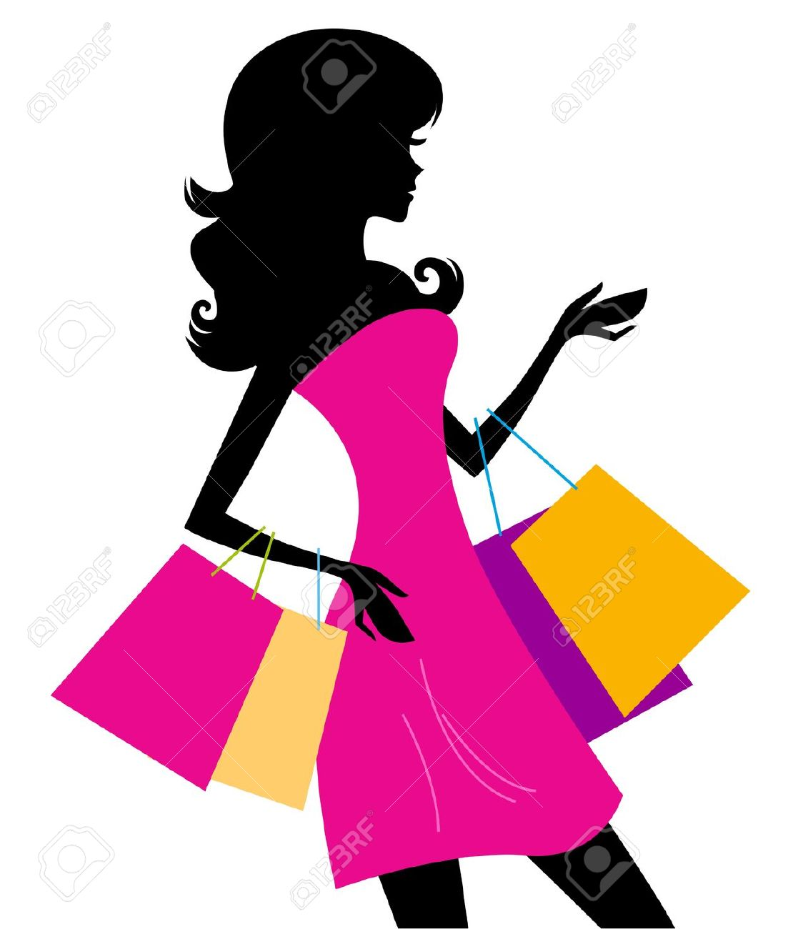 1124x1300 Woman Shopping Clipart, Explore Pictures