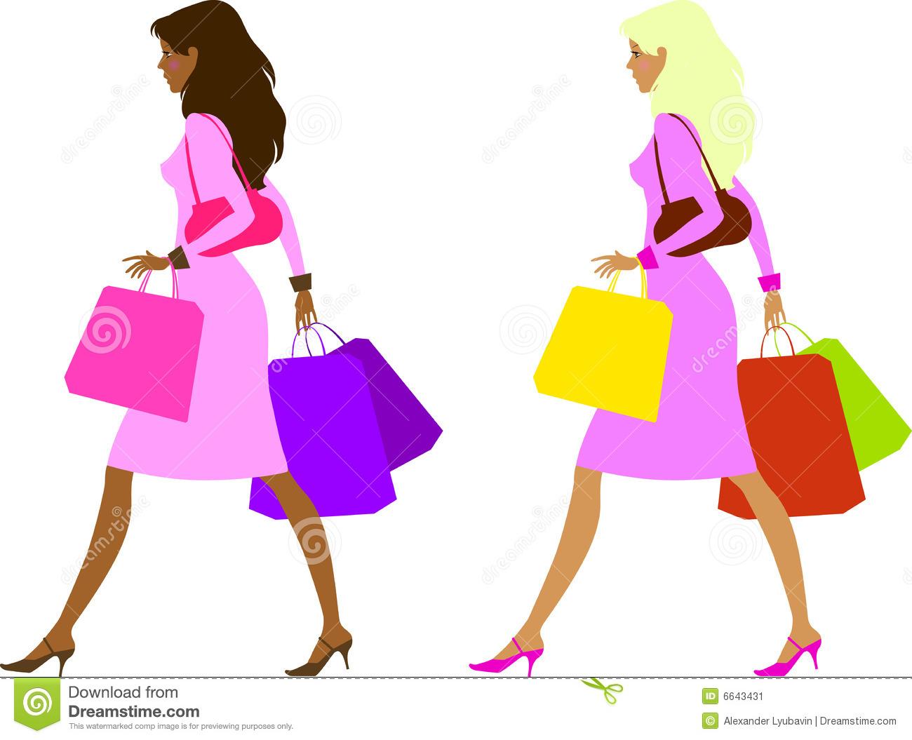 1300x1055 Of Woman Shopping