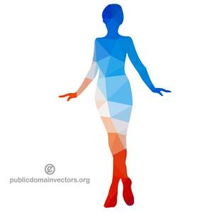 Woman Standing Clipart
