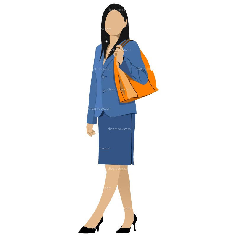 800x800 Girl Walking Clipart Images
