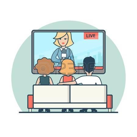 450x450 Tv Clipart Tv News