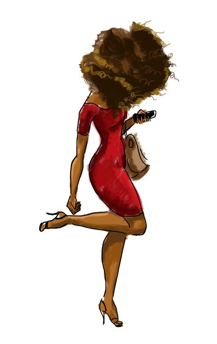 442x700 Best 25+ Black women art ideas Black girl art