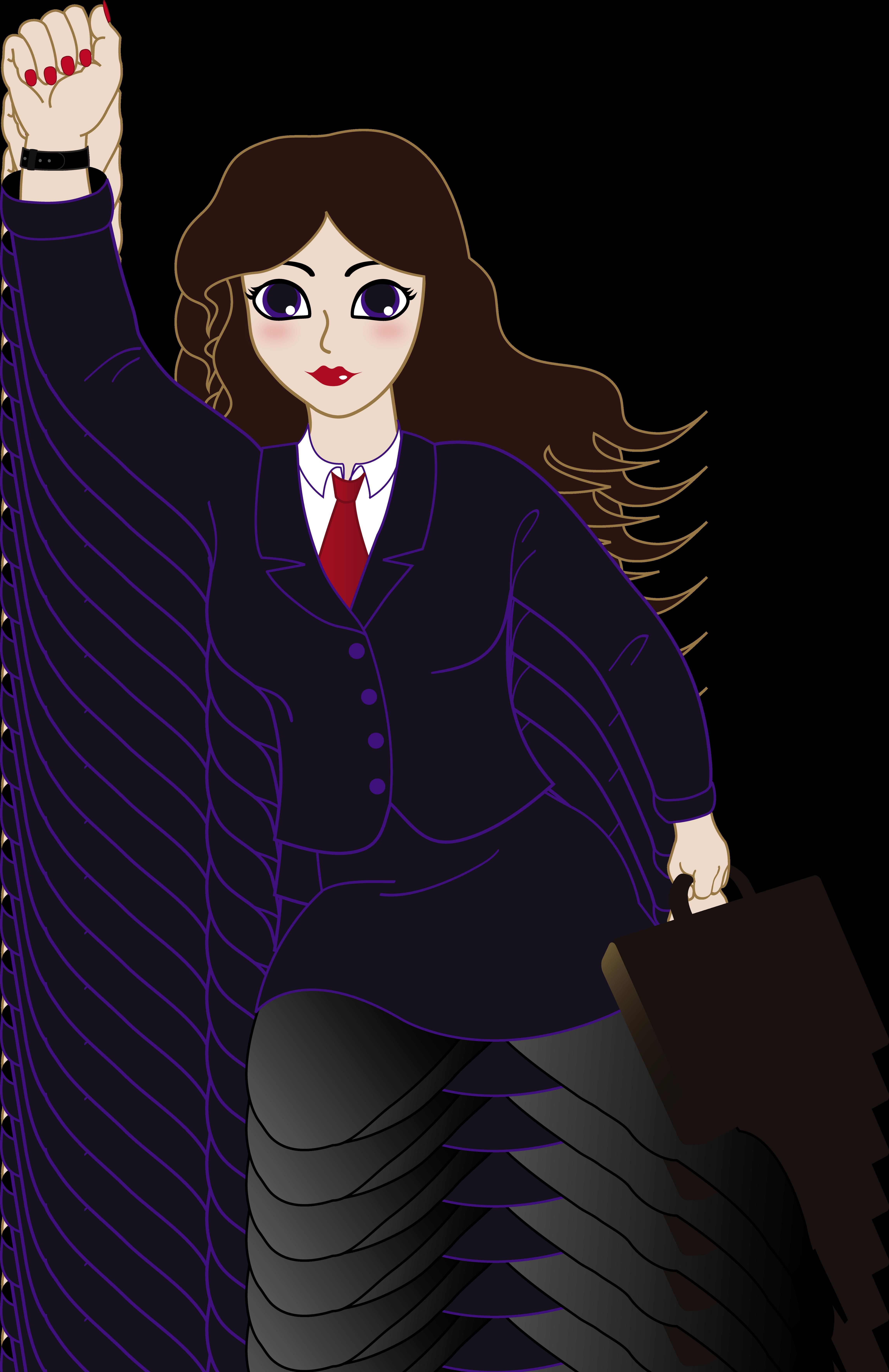 4586x7072 Super Business Woman