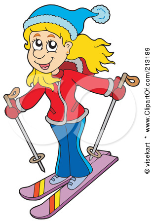 308x450 Women Clipart Skiing
