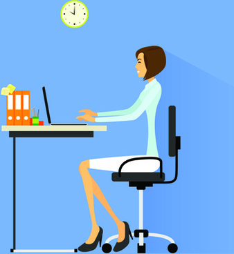 338x368 Business Woman Silhouette Free Clip Art Free Vector Download