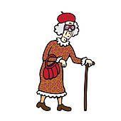 170x170 Old Woman Clipart Free