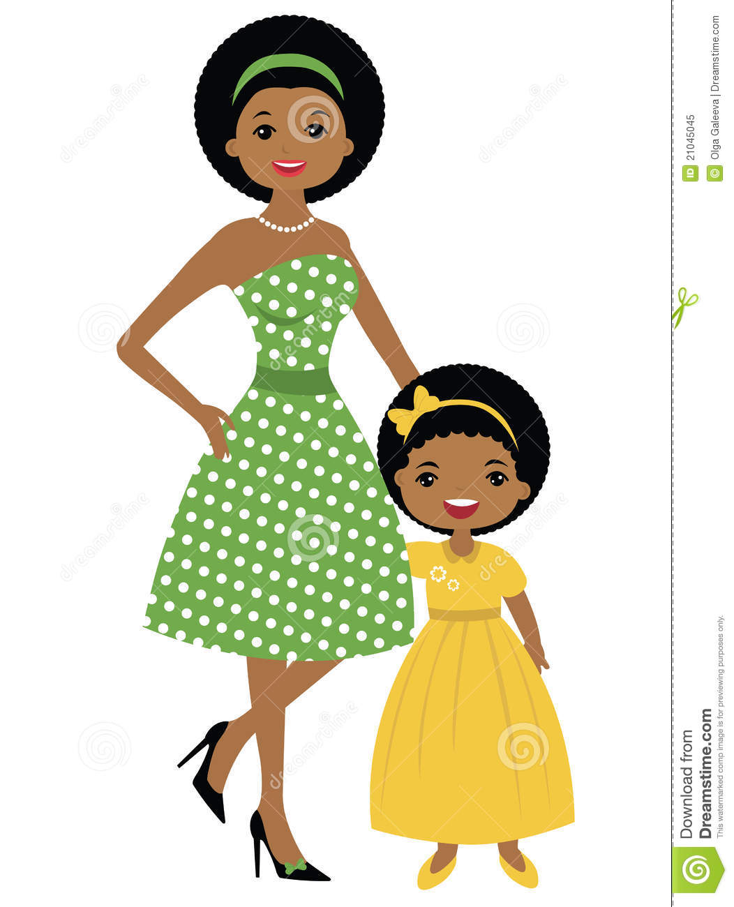 1052x1300 African American Business Woman Clipart