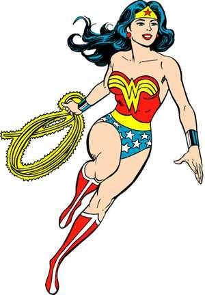 300x431 Top 10 Wonder Woman Clip Art