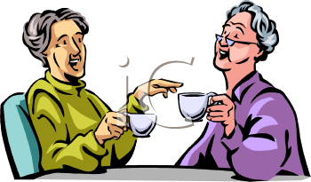350x205 Two Old Women Clipart