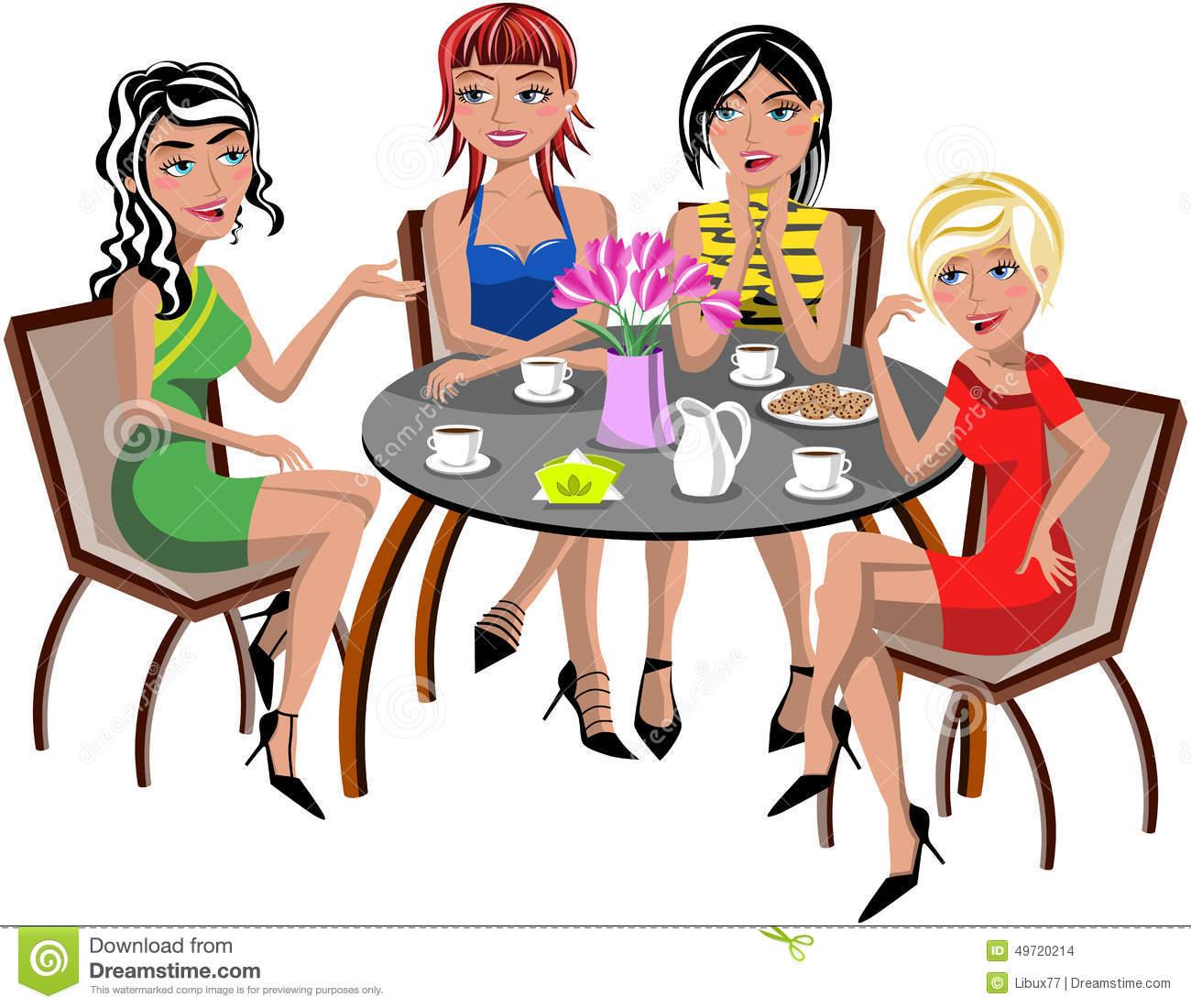 1300x1100 Lunch Clipart Women'S