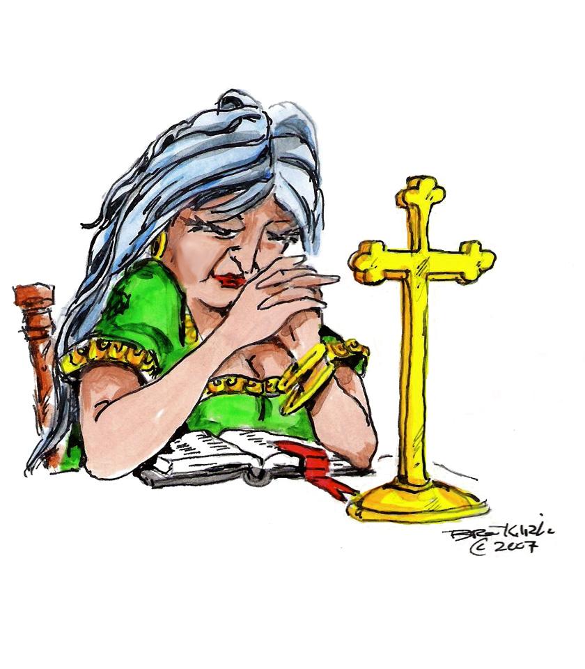 840x960 Christian Woman Clipart
