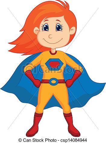 351x470 Black Female Superhero Clipart