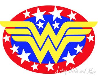 340x270 Nice Wonder Woman Clipart Wonder Woman Logo Clip Art To Pin