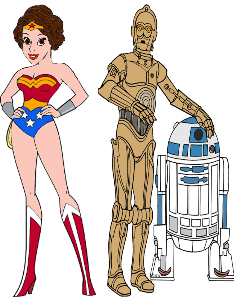 782x990 Princess Leia Organa As Wonder Woman By Darthraner83