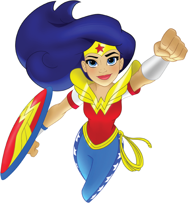 598x648 Super Girl Clipart Wonder Woman