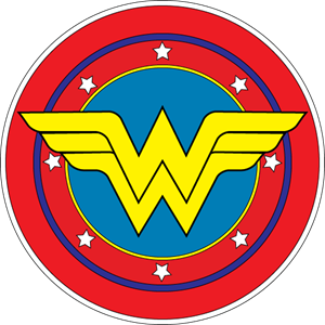 300x300 Wonder Woman Logo Clip Art