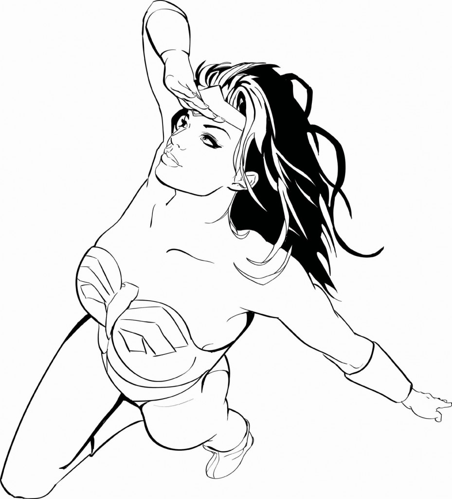 929x1024 Coloring Pages Kids Wonder Woman Coloring Pages For Girls