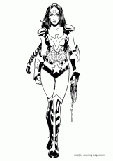 162x230 Wonder Woman Coloring Pages To Download And Print For Free