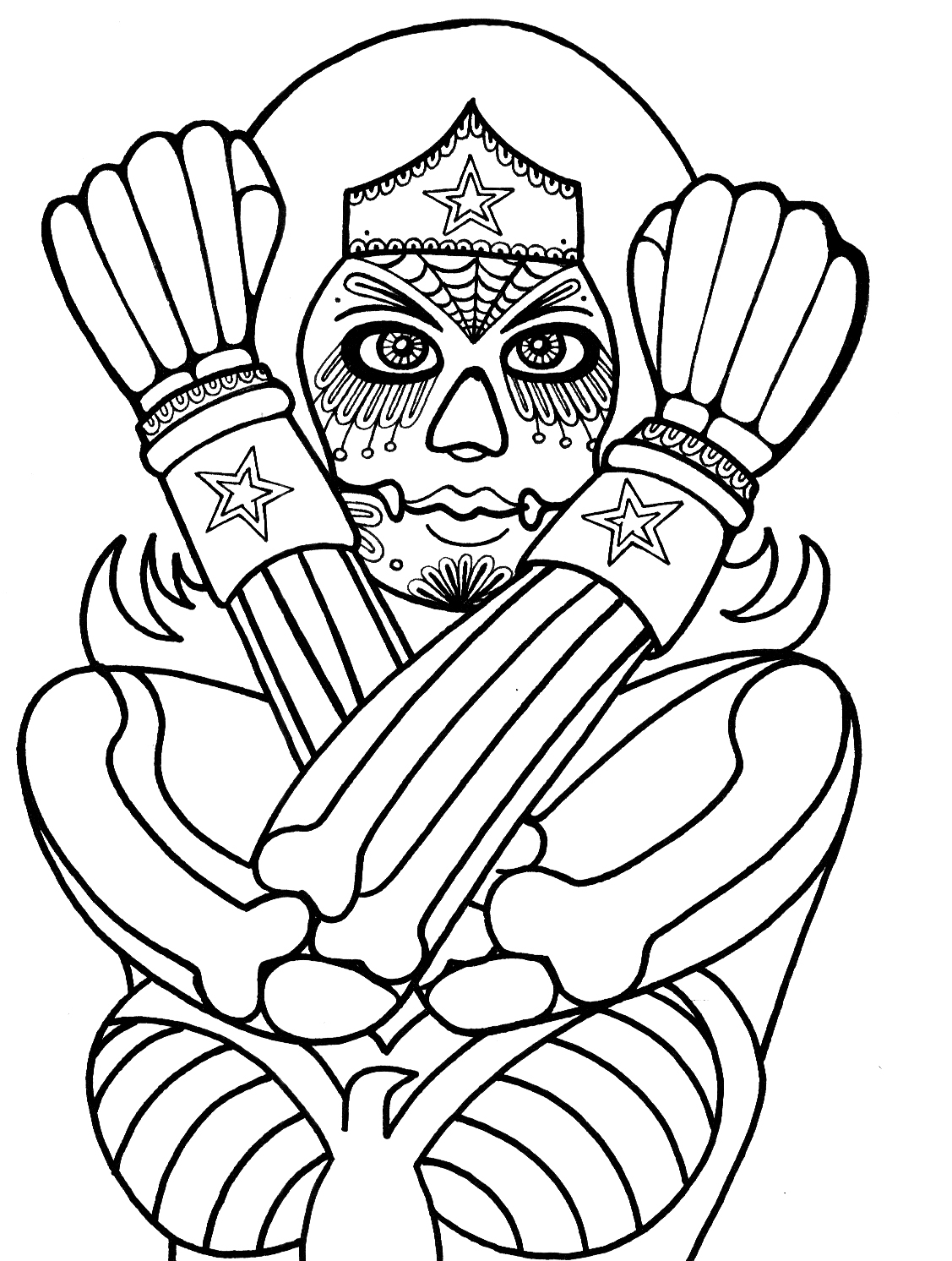 1127x1492 Yucca Flats, N.m. Wenchkin's Coloring Pages