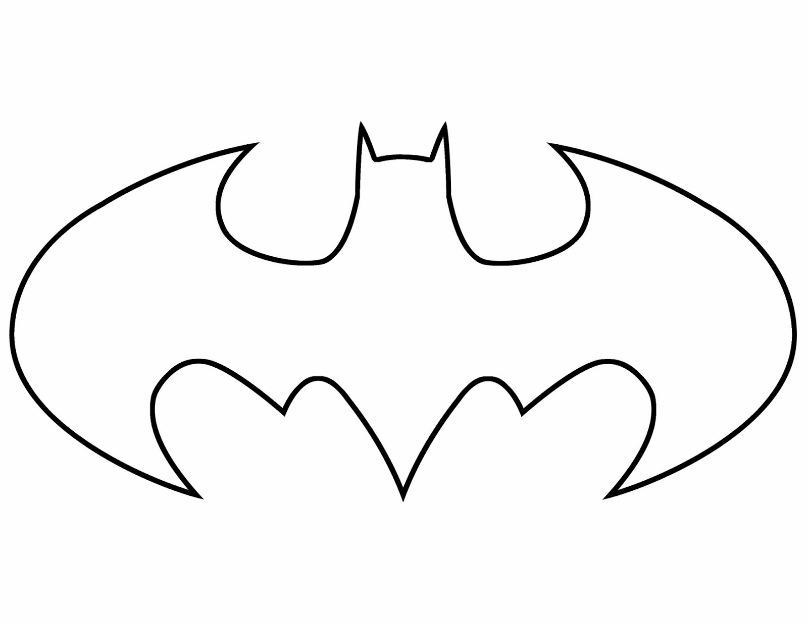 1600x1237 Batman Coloring Pages