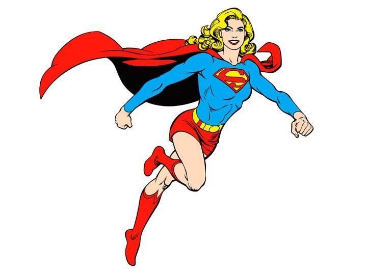 720x540 Supergirl Clipart Classic