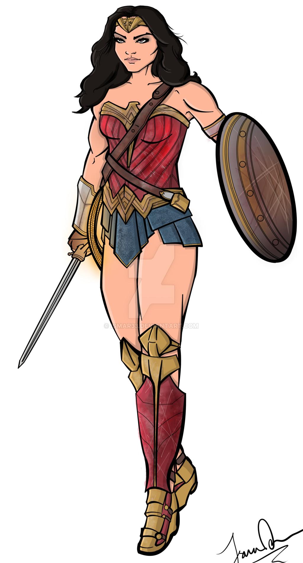 1024x1902 Wonder Woman By Ismar33