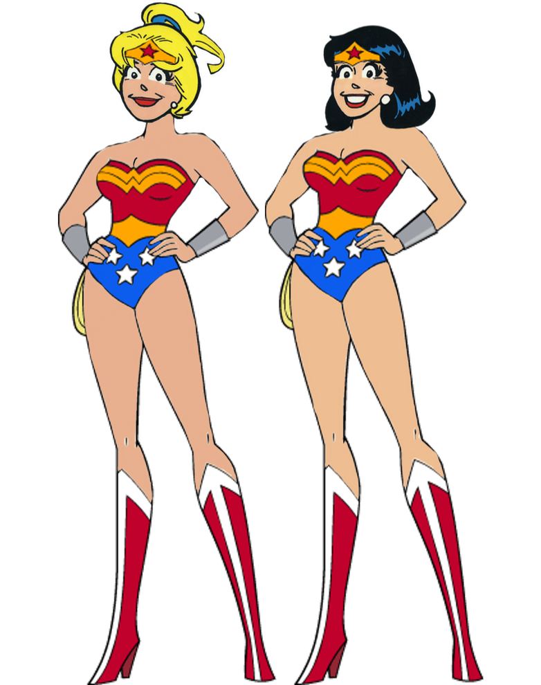 782x990 Betty And Veronica As Wonder Woman By Darthraner83