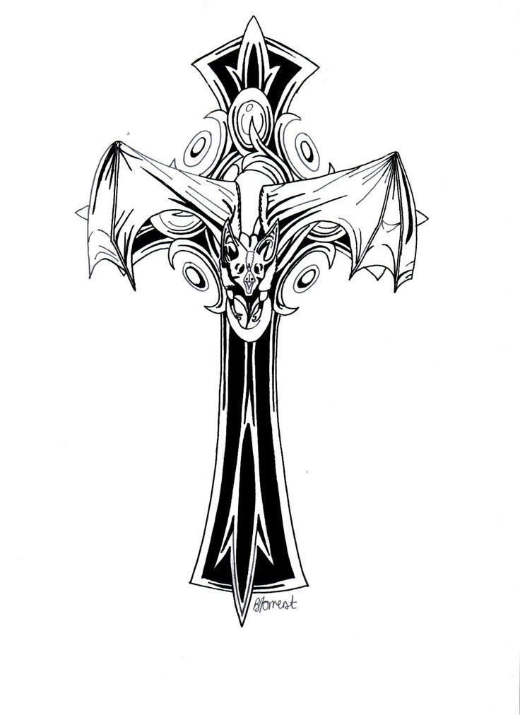 736x1012 Best Gothic Crosses Ideas 90s Accessories, Lisa