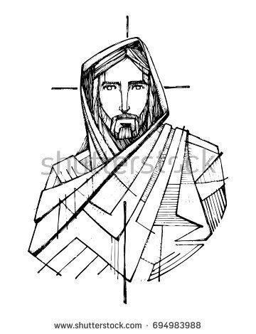 360x470 Best Jesus Drawings Ideas Jesus Coloring Pages