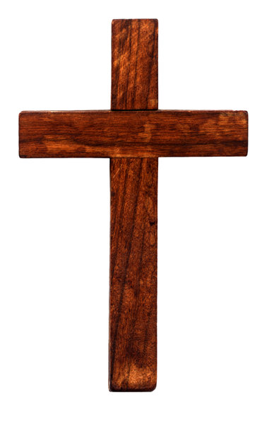 378x600 Clipart Cross Wooden