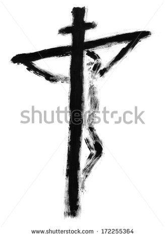 327x470 Drawn Wood Wood Cross