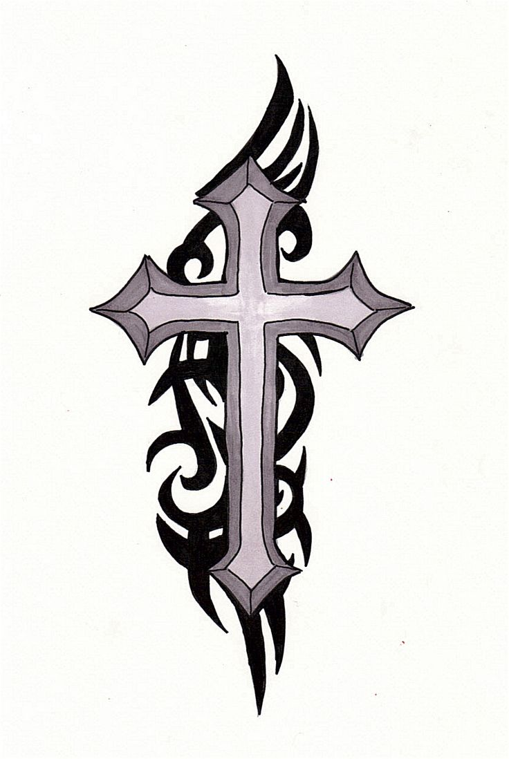736x1098 29 Best Simple Religious Tattoo Drawings Images