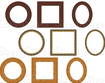 340x270 Free Wood Frame Clipart