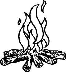214x236 Clip Art Campfire Outline Campfire Clipart Ahg Craft