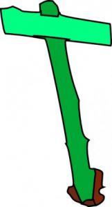 162x300 Wood Sign Clip Art Download