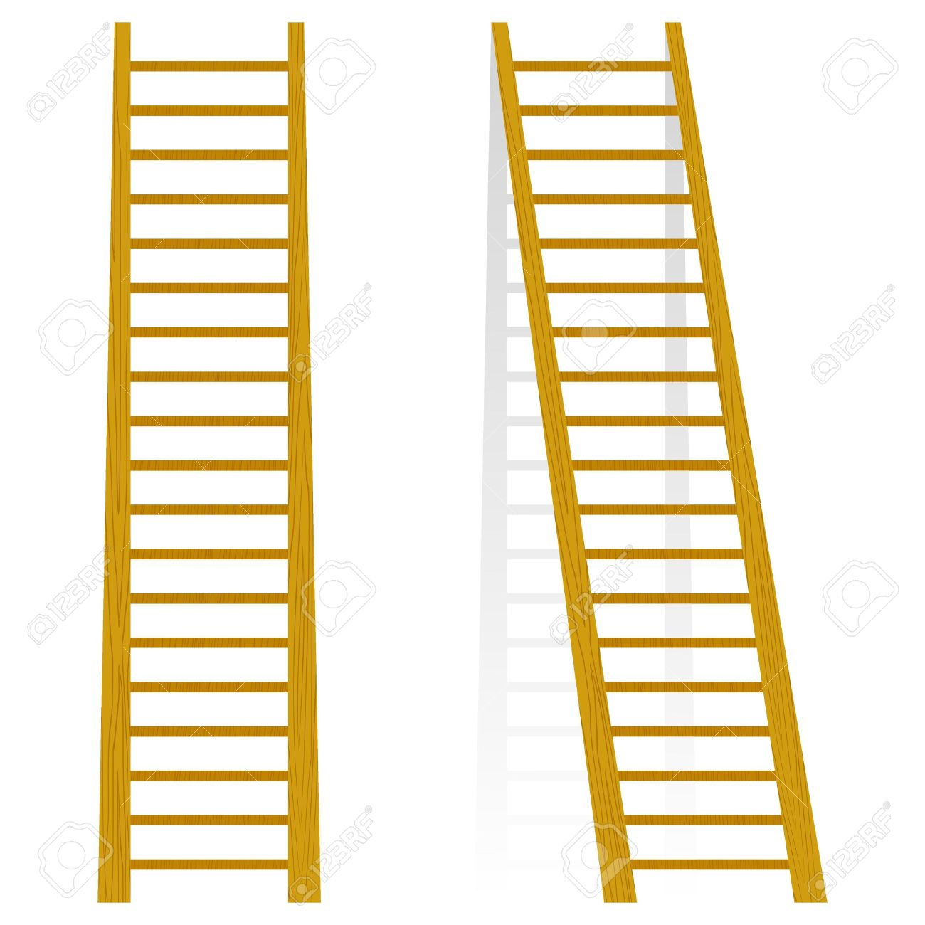 1300x1300 Stairs Clipart Wooden Ladder