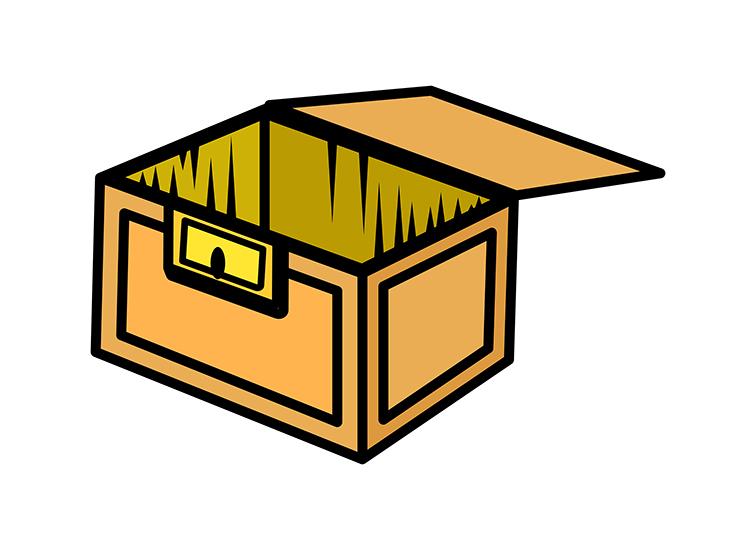 756x550 Box Clipart Wooden Box