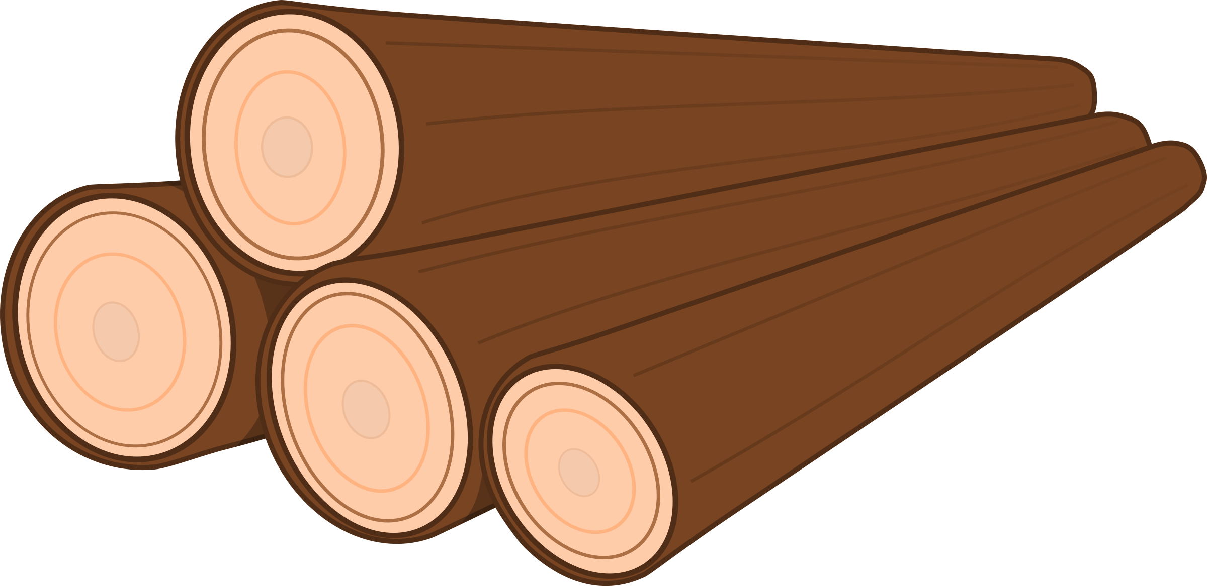 2400x1167 Wood Clipart Lumber