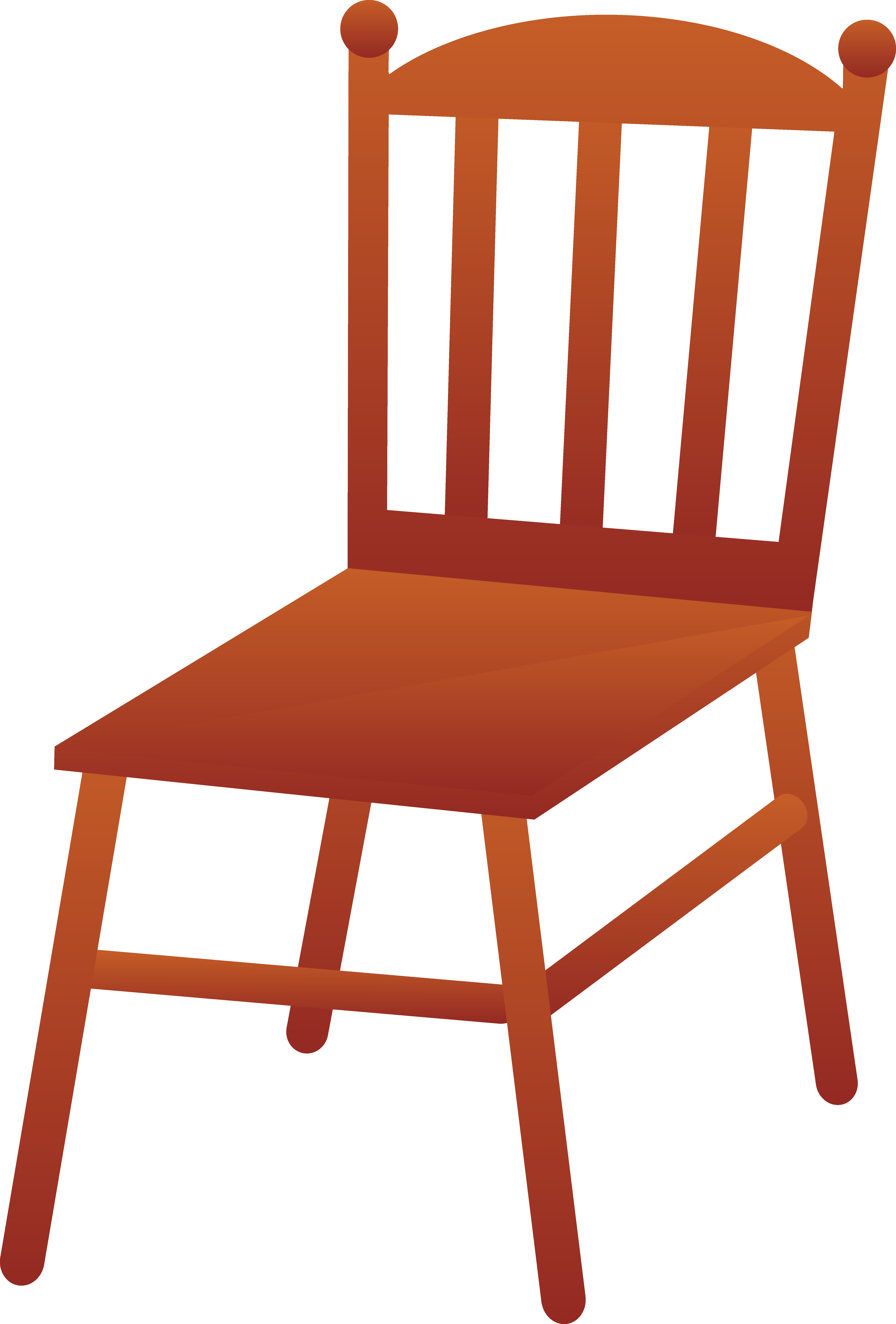 5534x8175 Wood Clipart Wooden Chair